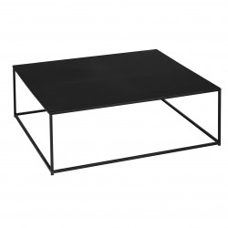 "Table basse deco ""Gota"" 100 x 100 x 33 cm Atmosphera"