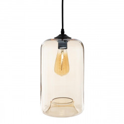 "Suspension ""Elim"" en verre H 30 cm Atmosphera Ambrée"