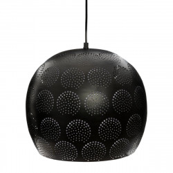 "Suspension boule ""Elgin"" ajourée Diamètre 30 cm Noir d'Atmosphera"