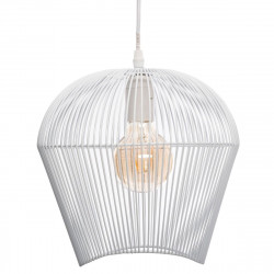"Suspension ""Jena"" en métal filaire Hauteur 25 cm Blanc Atmosphera"