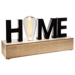 Décoration lumineuse led mot Home Atmosphera