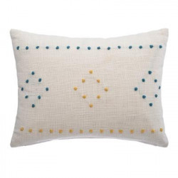 "Coussin""Slub"" Etnicolor déhoussable 30 x 40 cm Atmosphera"
