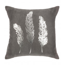 Coussin Plume Gold Silver 40 x 40 cm Atmosphera