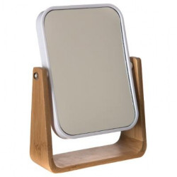 "Miroir Bambou ""Natureo"" Blanc Atmosphera"