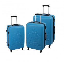 Lot de 3 Valises rigide ABS - Olympique de Marseille