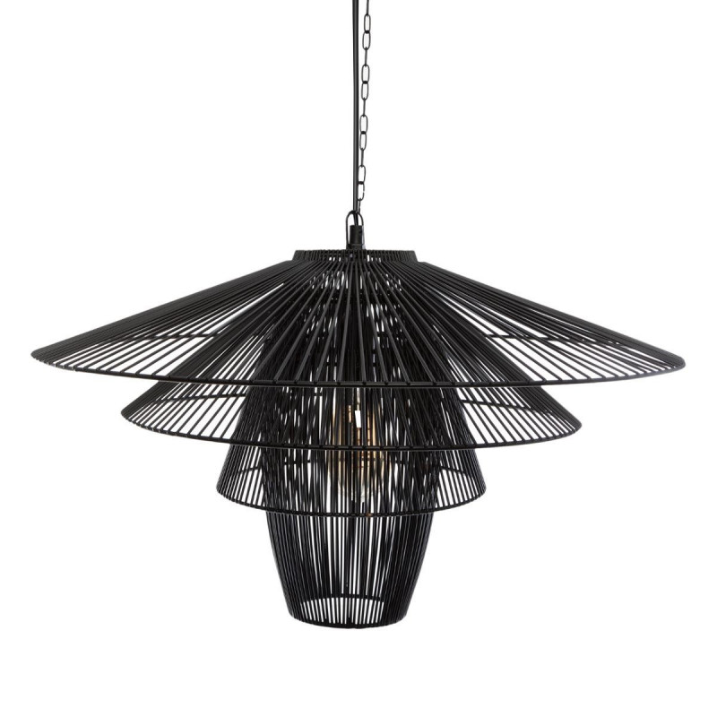 "Suspension Noire ""Anor"" en métal D59 Atmosphera"