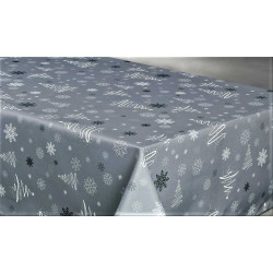 "Nappe anti tache rectangulaire ""Sapin"" 145 x 240 cm (6 à 10 couverts)"