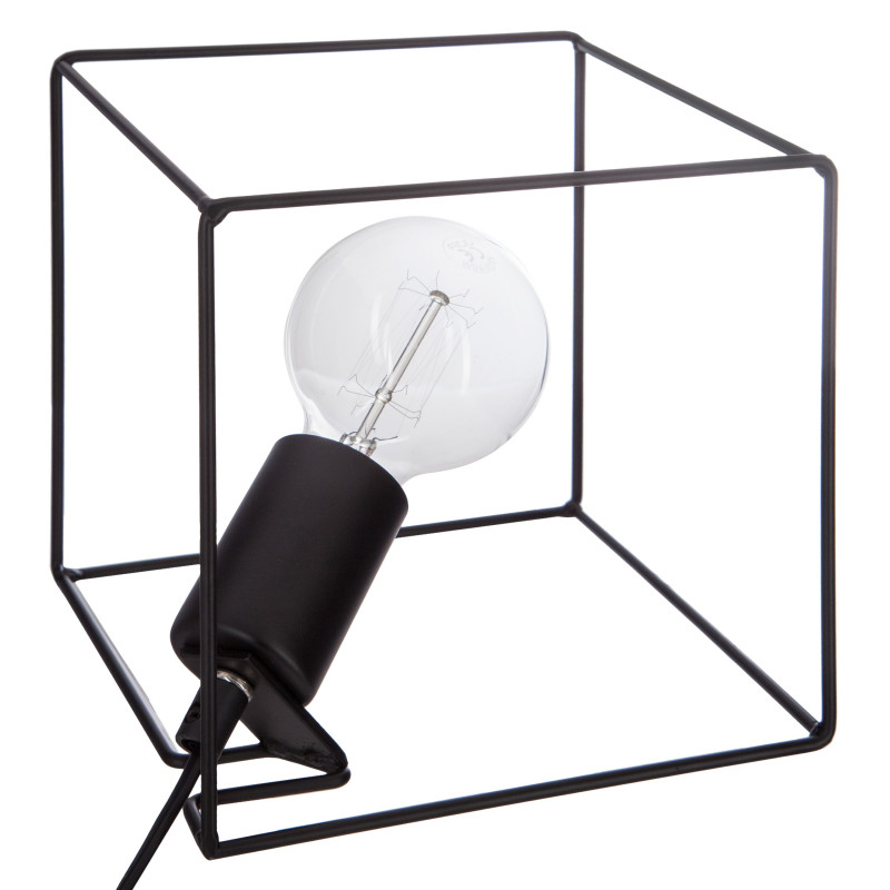 Lampe métal fil contemporain Atmosphera