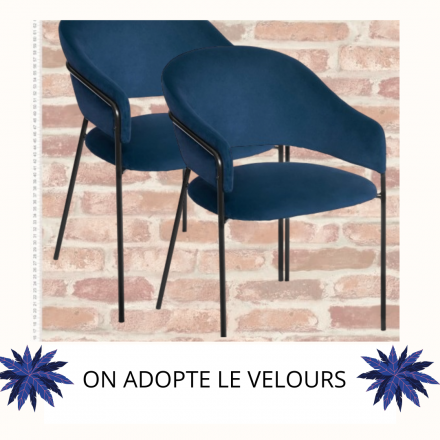 On adopte le velours