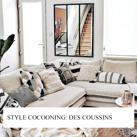 Style cocooning: des coussins